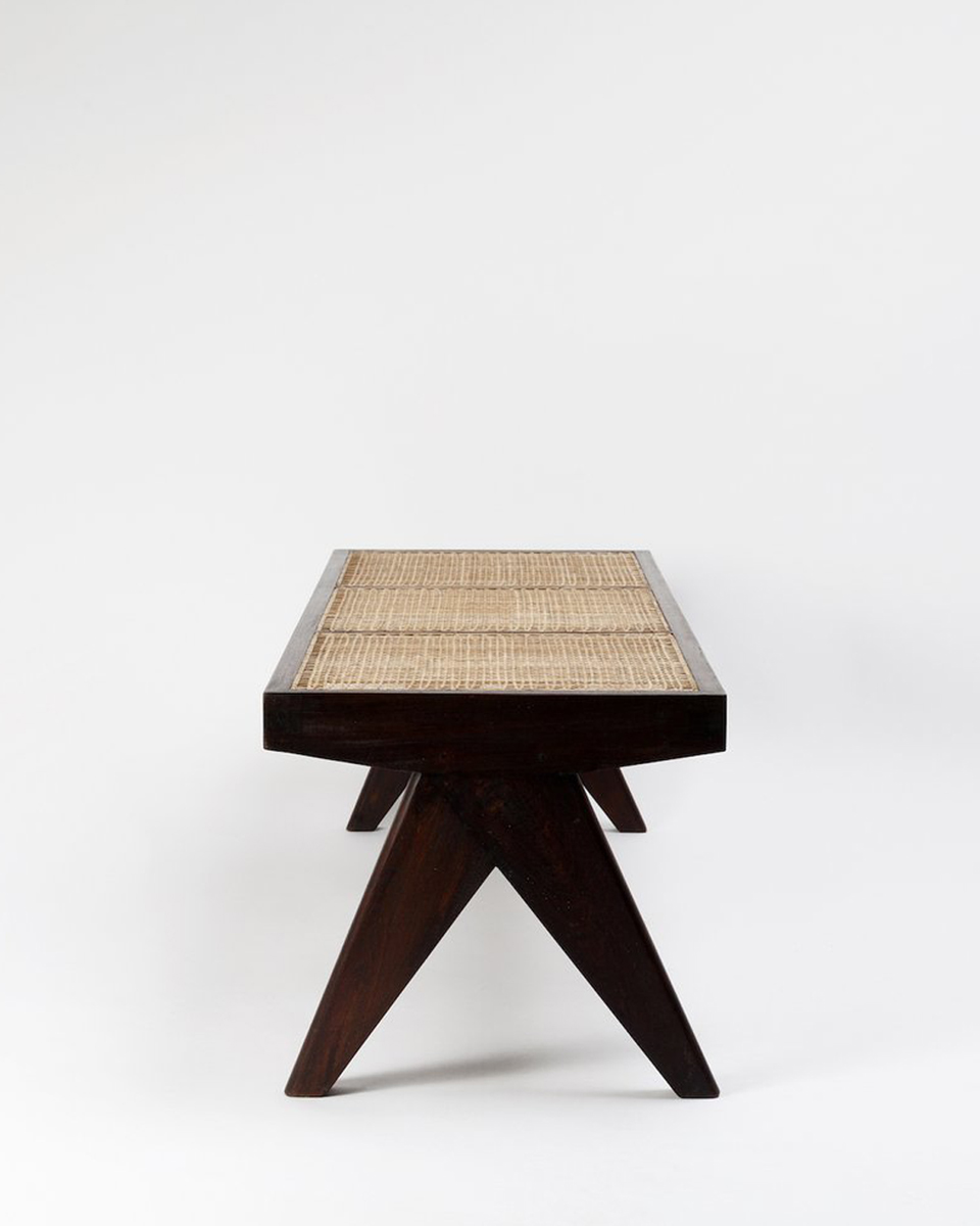 Library bench Pierre Jeanneret