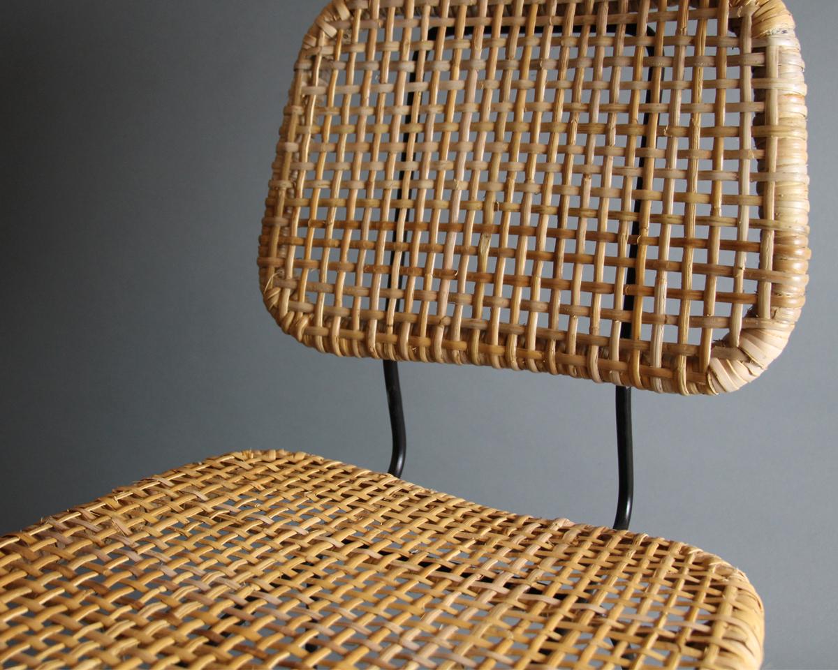 silla en rafia